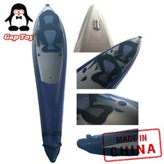 Inflatable tantem fishing kayak canoe