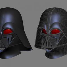 Printable Model: Hela Headdress Helmet from Thor Ragnarok Vader Helmet, Prop Maker, 3d Printing Industry, Model Scout, Star Wars Prints, 3d Printable Models, Darth Vader, Captain America Civil War, File Format