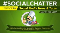 Social Media Marketing Talk Show 99 - Public Facebook Stories & personal...