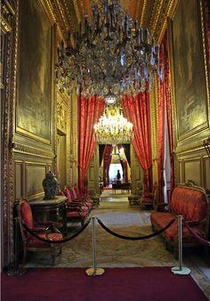 Musée du Louvre; The Apartments of Napoleon III. Paris, France