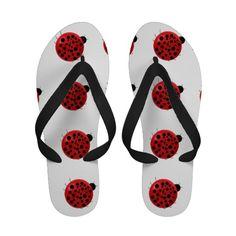 Ladybug Love Flip Flop