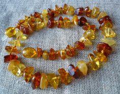 Real Genuine Baby Baltic Amber Multicolor Necklace 12 7 In | eBay