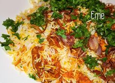 One of my favourites - Chicken Tikka Biryani - Pakistani food.