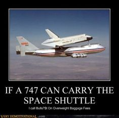 A selection of funny demotivational posters. A selection of funny demotivational posters. - Funny - Check out: Funny Motivational Posters on Barnorama Demotivational Posters Funny, Aviation Humor, Lol, Space Shuttle, Monday Motivation, Funny Photos, I Laughed, Laughter, Words