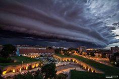 Timisora, Romania 21 Terrifyingly Beautiful Photos of Incoming Storm Clouds