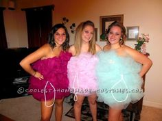We came up with the idea for these Loofah girls costumes only days before the Halloween party we were going to attend. So we researched what we would ...