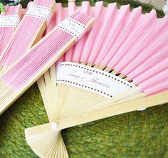 Colored Paper Fans