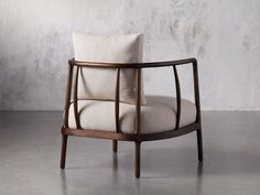 Shop the Griggs accent chair at Arhaus My Furniture, Living Room Furniture, Furniture Design, Wooden Sofa Designs, African Interior, Small Sofa, Living Room Remodel, Occasional Chairs, Living Room Chairs