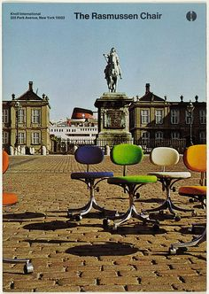 The Rasmussen Chair Cover by Massimo Vignelli
