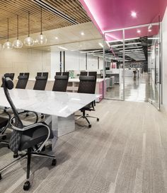 Lucid Chairs from Davis Furniture in the Zion & Zion Headquarters - designed by Rachel Usher