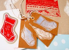Creative Christmas Lino Printing - Cards, Wrap and Tags Tuesday 5th November 10am-12.30pm - The Make It Room