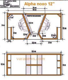 subwoofer box design for 12 inch Subwoofer Diy, 12 Inch Subwoofer Box, Subwoofer Box Design, Powered Subwoofer, Subwoofer Speaker, Car Speaker Box, Speaker Plans, Speaker Box Design, Audio Box