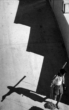 Line and Shadow, 1953 by Fan Ho.