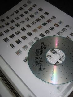 Archive photos by moving to a cd and storing with a thumbnail print in a sheet protector.