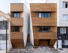 Contemporary single family residence designed in 2013 by ReNa located in Kermanshah, Iran.