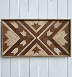 Reclaimed Wood Wall Art  Wall Decor  Maple Leaf  by PastReclaimed