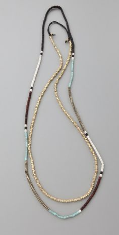 Long Necklace with various beads                                                                                                                                                                                 More
