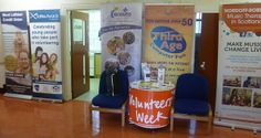 Volunteers' Week at Winchburgh Community Centre this morning Thursday 5th June
