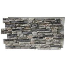 Best Gray Stone Fireplace In 2019 Stacked Stone Fireplaces 640 x 480