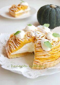 かぼちゃのモンブランタルト by flan* [クックパッド] 簡単おいしいみんなのレシピが137万品