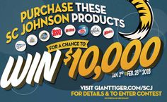 #GiantTiger & #SCJohnson are Giveaway $10,000 #Contest