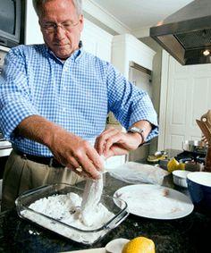 #Viking USA  Almond-Crusted Catfish
