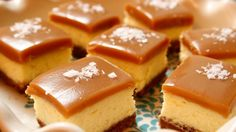 Look at this recipe - Salted Caramel Cheesecake Squares - from Ree Drummond and other tasty dishes on Food Network.