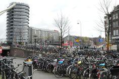 So many bikes in Amsterdam