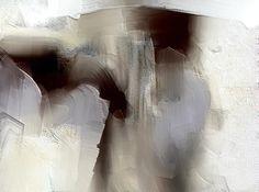Sombre Painting by Davina Nicholas
