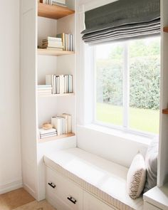 Loving this little book nook by @thehabitatcollective 🌿