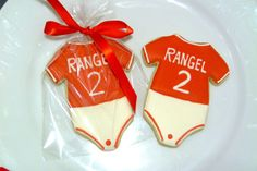 Custom Decorated Gourmet Sugar Cookie Baby by SweetRoseCookies