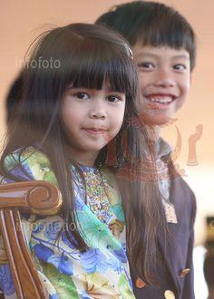 Young Royals of Brunei Darussalam, HRH Prince Abdul Wakeel and HRH Princess Ameerah, son and daughter of HM Sultan Haji Hassanal Bolkiah