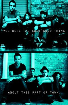 Fall Out Boy. Grand Theft Autumn/Where Is Your Boy lyrics. Take This To Your Grave album cover....original on top, recreated on bottom!<<< OMG! Now, I'm crying :')
