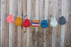 Hand-knit Organic Wool Diaper Cover/Soaker by OneLoveDiaperCo