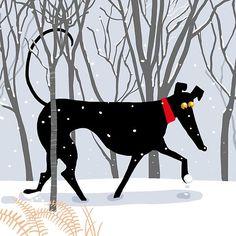 Winter Hound