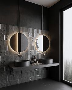 Washroom Design, Bathroom Interior Design, Indian Bedroom Design, Living Room Decor Tips, Bathroom Showrooms, Bathrooms, Laundry In Bathroom, Architecture Visualization, Behance