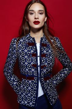 FABIOLA NAVY BLAZER by THE EXTREME COLLECTION