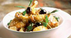 Ragoût de poulet aux citron et olivesDécouvrir la recette du ragoût de poulet aux citron et olives Olives, Recipies, Low Carb, Favorite Recipes, Chicken, Meat, Fruit, Desserts, Food