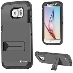 S6 Case,For Samsung Galaxy S6 Heavy Duty Case High Impact Hybrid Protective Rubber Shell Full-body Rugged Armor Stand Cover With Built-in Screen Protector Water Resistant Dual Layer Design + Impact Resistant Bumper (Black) Vakoo http://www.amazon.com/dp/B00WDSWODI/ref=cm_sw_r_pi_dp_18csvb0GS8VP0