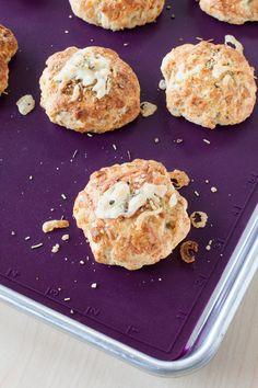 #Epicure #Glutenfree Focaccia-spiced Biscuits