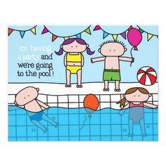 Swim - Invitation