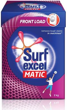 Surf Excel Matic Front Load Detergent Powder, 2 kg 20 Liters, House Appliances, Popular Sites, Washing Machines, Laundry Detergent, Surfing, Powder, How To Remove, Water