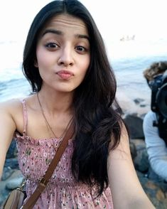 Image may contain: 1 person, ocean, outdoor and closeup Cute Beauty, Beauty Full Girl, Beauty Women, Stylish Girls Photos, Girl Photos, Indian Wife, Indian Teen, Indian Girls, Cute Girl Poses