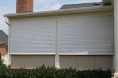 Screen Porch Shades protect and look beautiful traditional porch