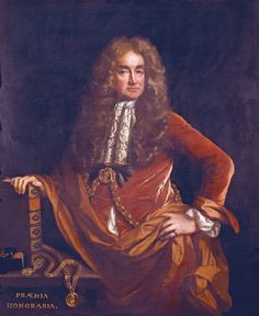 Elias Ashmole Painted by John Riley (1646-1691); oil on canvas, 124 x 101 cm Elias Ashmole (1617-1692), whose gift to the University of Oxford in 1683 formed the basis of the Ashmolean Museum in Broad Street is portrayed with objects reflecting his scholarly interests as an antiquary and herald. The book, Ashmole of the Garter, represents his Institution, Laws and Ceremonies of the most Noble Order of the Garter (1672). The medals (Praemia honoraria), carefully depicted, no doubt at…