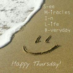 Smile Happy Thursday                                                                                                                                                                                 More