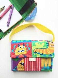 Birthday Gift Kids  Creative Kids Crayon Case by BoundtobeCreative