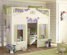 http://www.loftbuzz.com/best-online-shop-to-get-modern-kids-furniture/real-cottage-loft-bed-for-little-lady-room-green-ottoman-five-mushroom-green-polka-dot-pillow-patterns-purple-circle-accessories-flower-wall-green-rug-wood-floor-laminate-purple-doormat-white-bedding/
