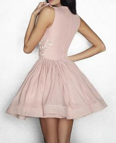 1a700848002 A239 Stylish A-Line Jewel Sleeveless Pink Short Homecoming Dress from  AmazingHa