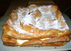 karpatka: Przepisy, jak zrobić - Smaker.pl Izu, French Toast, Food And Drink, Bread, Breakfast, Recipes, Basket, Bakken, Brot